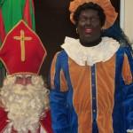 Sinterklaas en zijn hoofd Piet